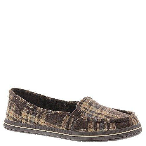 Skechers Gafas de Kick Start azul marino mujer? s soporte de comodidad zapatos Chocolate