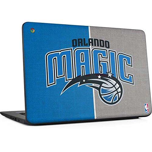 Skinit NBA Orlando Magic Chromebook 14 G5 Skin - Orlando Magic Canvas Design - Ultra Thin, Lightweight Vinyl Decal - Orlando Light Magic