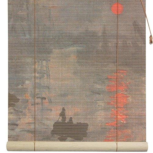 Oriental Furniture Impression Sunrise Bamboo Blinds - (72 in. x 72 in.)