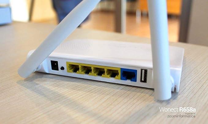 WONECT Router repetidor WiFi con conexion USB R7 valido RALINK 3070 RT3070 Banda dual 2.4Ghz y 5Ghz Repetidor WiFi Router Extensor Router USB ...