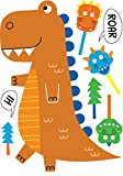 BirthdayExpress T-Rex Dinosaur Room Decor - Stand Up with Photo Props