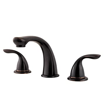 Pfister Pfirst Series 2-Handle Roman Tub Trim, Tuscan Bronze - Two ...