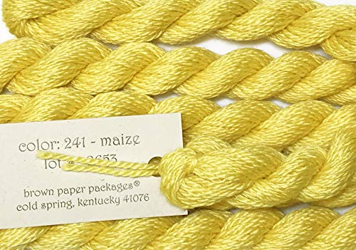 Silk & IVORY-MAIZE-241-1 SKEINS with This Listing