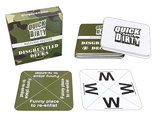 Quick-And-Dirty-Military-Fast-fun-party-game-by-Disgruntled-Decks