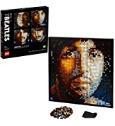 LEGO Art The Beatles 31198 Collectible Building Kit; An Inspiring Art Set for Adults that Encoura...