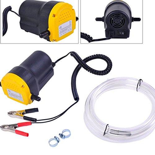12V Fluid Oil Diesel Extractor Scavenge Suction Transfer Pump For Truck, RV, Boat, ATV, Car/Motorbike