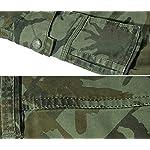 Panegy Adultes Combat Shorts pour Homme/Garçon Coton Bermudas Treillis Militaire Cargo Armée Pantalon de Travail… 12