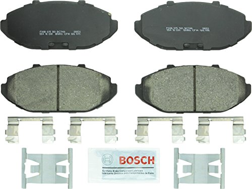 Bosch BC748 QuietCast Premium Ceramic Front Disc Brake Pad Set