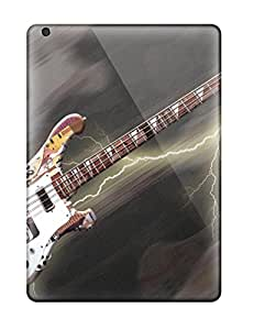 Durable Defender Case For Ipad Air Tpu Cover(guitar)