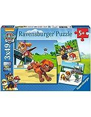 Ravensburger 92390 Puzzel Paw Patrol Team Op 4 Poten - Drie Puzzels - 49 Stukjes - Kinderpuzzel