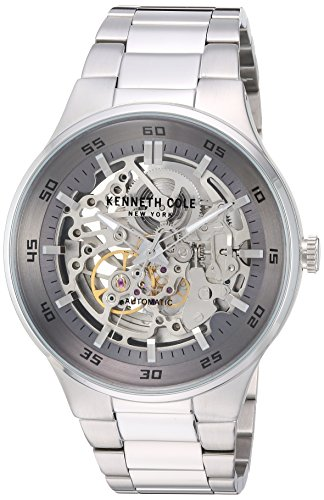 Kenneth Cole New York Men's 'Auto' Automatic Stainless St...