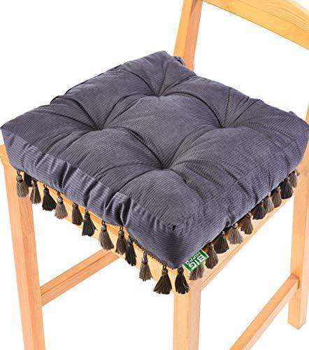 Big Hippo Chair Cushion,Square Cotton Seat Cushion Soft Thicken Floor Pillow Cushion Tie