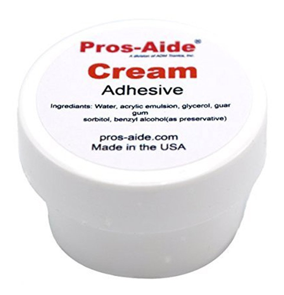 Pros-Aide Cream Adhesive 1/2 oz. Jar - Official Product of ADM tronics