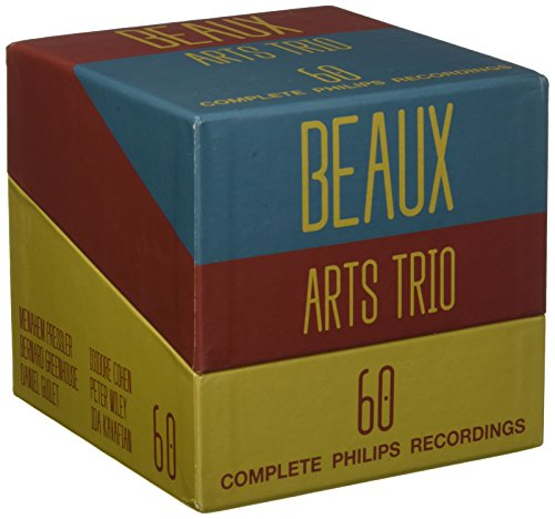 Beaux Arts Trio – The Complete Recordings [60 CD Box Set]
