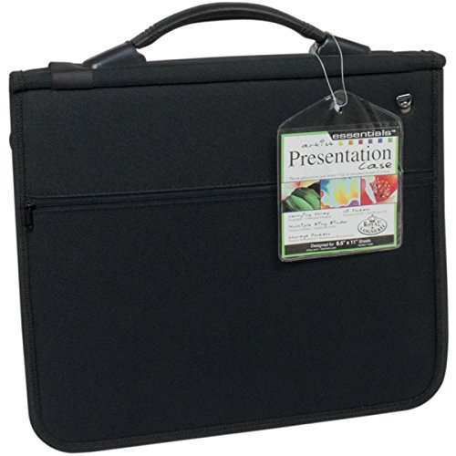 Deluxe Presentation Portfolio Case W/10 Sleeves~8.5x11'' by Royal Brush