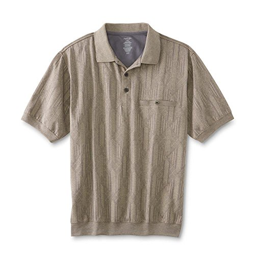 David Taylor Collection Men's Polo Shirt - Diamond Size Large (Collection Taylor)