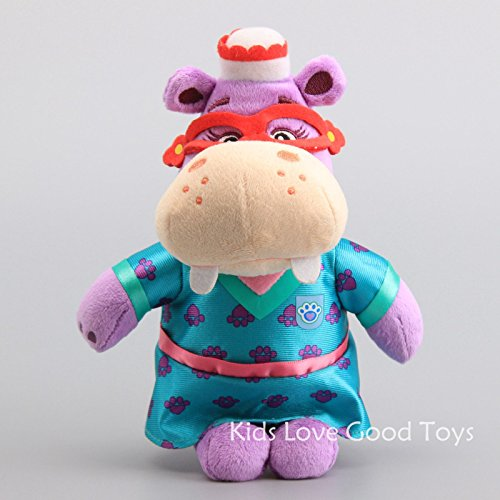 Left Dead Hunter Costume (Good Hippo with costume Plush Doll Soft Stuffed Toy 9