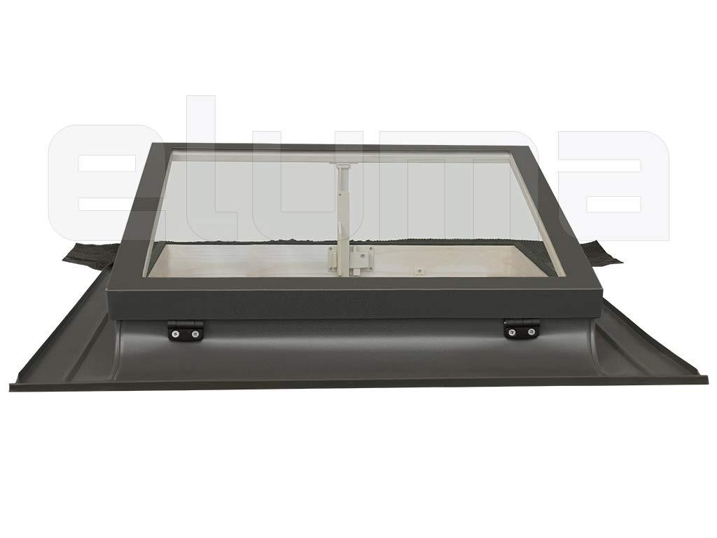 90x48 Base x Altura Ventana para tejadoCLASSIC VASISTAS Tragaluz por el acceso al techo//Doble vidrio apertura tipo Velux Claraboya
