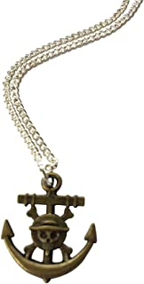 Skull And Anchor Necklace
