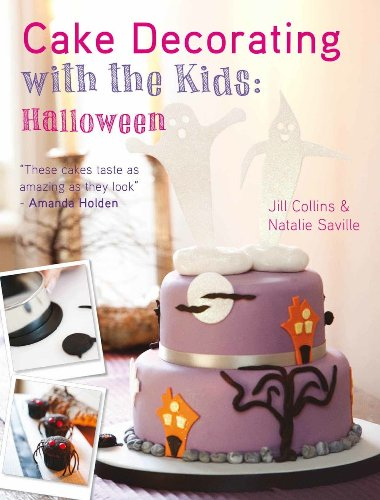 Cake Decorating with the Kids - Halloween -