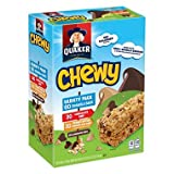 Quaker Chewy Granola Bars Variety Pack, 60 Count (Pack of 2)