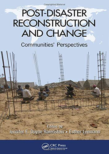 Post-Disaster Reconstruction and Change: Communities' Perspectives (Development Of Science And Technology In Tamil)