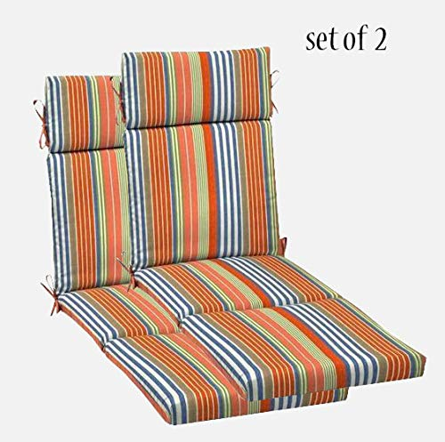 Comfort Classics, Inc. Outdoor Chaise Lounge Cushion Set of 2 72