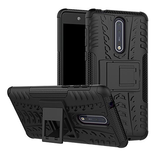 Image of Nokia 8 Case, Linkertech [Shockproof] Tough Rugged Dual Layer Protector Hybrid