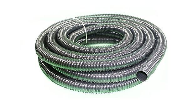 Espiral Manguera 32 mm Top calidad 30 metros rollo: Amazon.es: Jardín