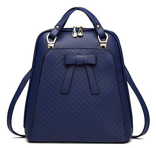 Respeedime - Bolso mochila para mujer Azul azul Medium azul oscuro