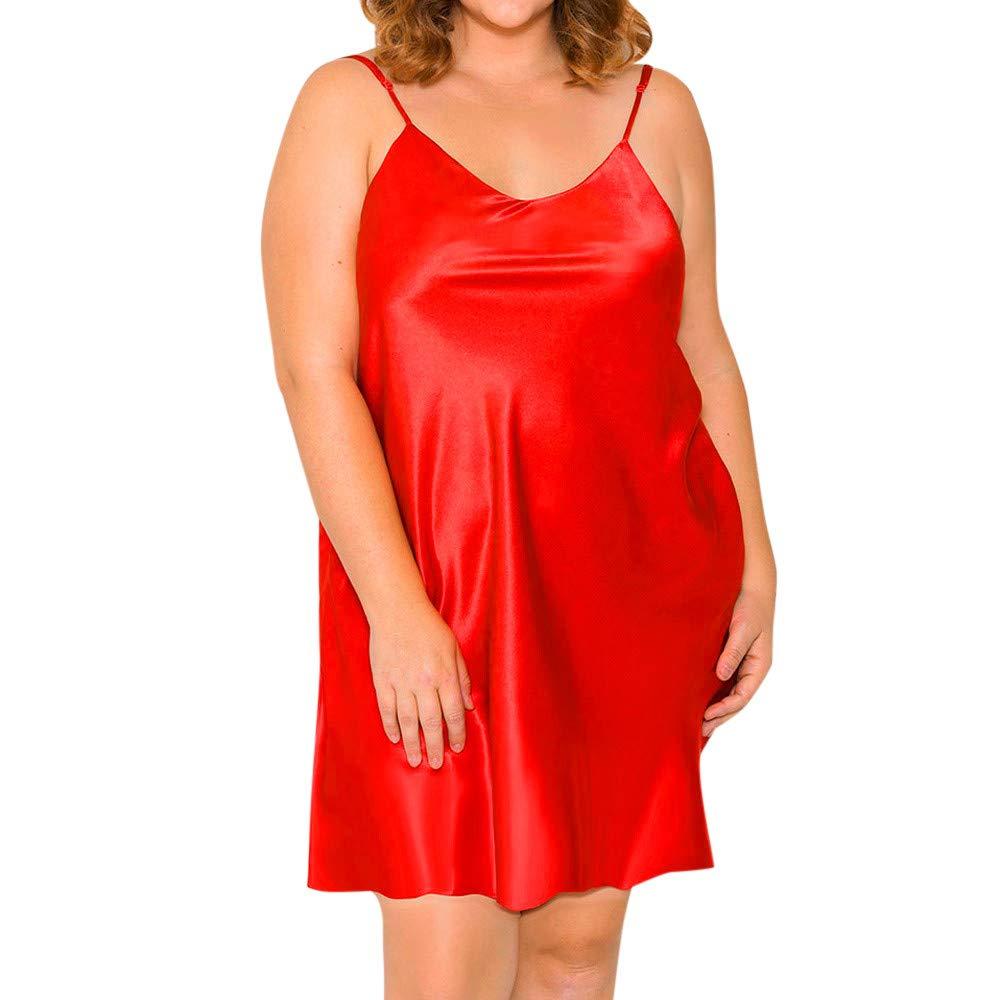 DEELIN Las Mujeres Moda Escritos Sexy Encanto Sling nighte Vestido más el tamaño de lencería Babydoll Ropa de Dormir Sleepskirt Calzoncillos Pantalones ...