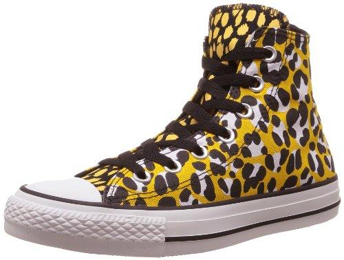 CONVERSE Chuck Taylor Ani Print Hi 308440-55-15  Damen Sneaker Mehrfarbig (OLD GOLD / BLACK / WHITE )