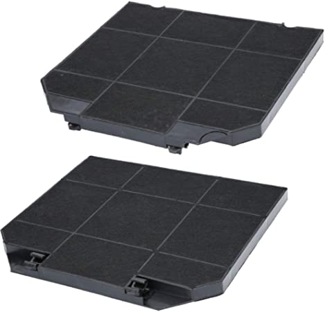 Filtro de carbón activo para campana extractora adecuado como alternativa para filtro de carbón 9029793636, para extractor de humos AEG, Electrolux, etc. 2 Filter: Amazon.es: Hogar