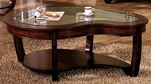 Furniture of America CM4336C Crystal Falls Dark Cherry Coffee Tables Review