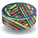 MightySkins Protective Vinyl Skin Decal for Amazon Echo Dot (2nd Generation) wrap Cover Sticker Skins Split Color