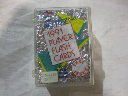 - Toys+ NFL Pro-Football 1991 Player Flash Cards Super High Gloss Cards Complete Set