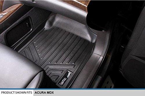 MAXLINER Floor Mats 1st Row Liner Set Black for 2007-2013 Acura MDX
