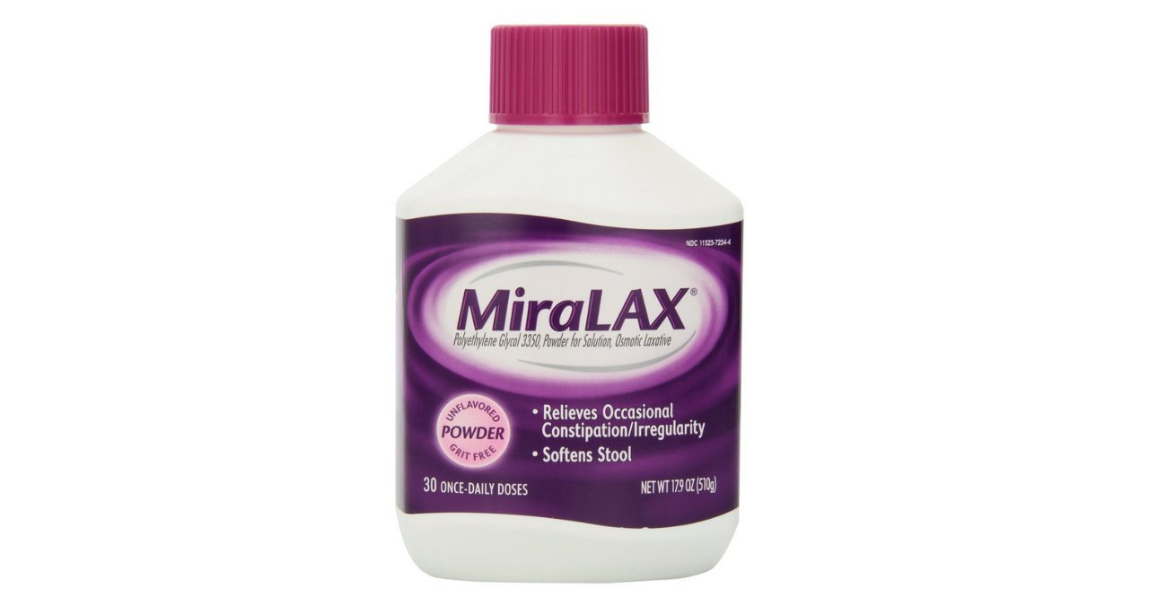 Miralax Miralax Powder 30 Doses - 17.09 oz (Pack of 5) by Miralax