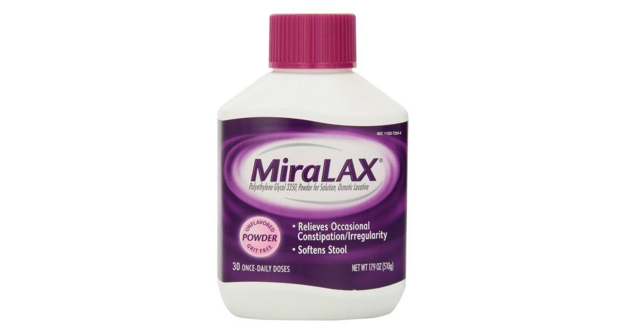 Miralax Miralax Powder 30 Doses - 17.09 oz (Pack of 5)