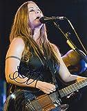 Alanis Morissette signed 8x10 photo