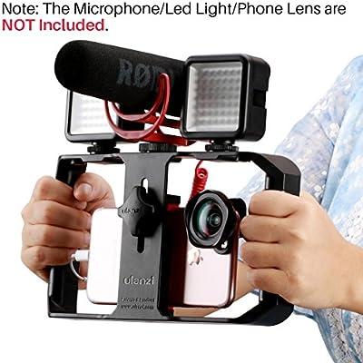 ULANZI U-Rig Pro - Jaula de vídeo para iPhone (Incluye 3 Soportes ...