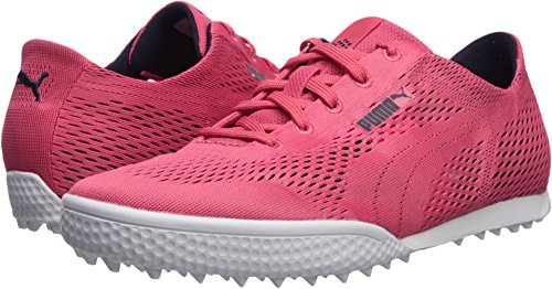 PUMA Golf Women's Monolite Cat Woven Golf Shoe, Paradise Pink/Paradise Pink, 7.5 Medium US