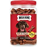 Milk-bone Soft Chewy Beef Filet Mignon Recipe Dog Snacks, 25-ounce, New, Free Shipping