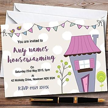 Amazon.com : Dotty Bunting House Personalized Housewarming ...