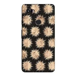 Cover It Up - Sand Star Black Pixel 2 XL Hard Case