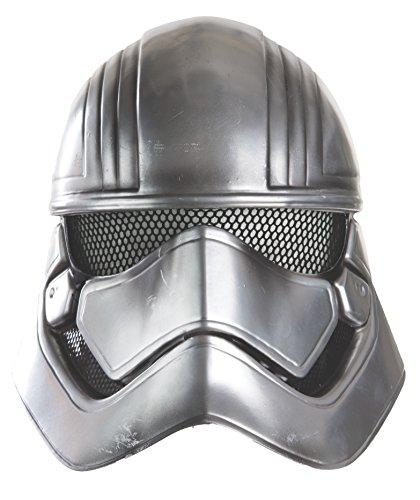 Star Wars: The Force Awakens Child's Captain Phasma Half Helmet (Stormtrooper Mask)