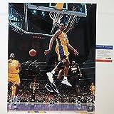 #4: Autographed/Signed Kobe Bryant Los Angeles Lakers 16x20 Basketball Photo PSA/DNA COA #3