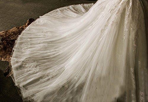 Weiß Ballkleid CoCogirls Prinzessin Bridal Hochzeit Kleider Hochzeitskleider Brautkleider Aschenputtel Kleid BavHwxq5za