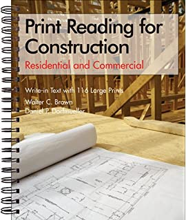 Blueprint reading for the building trades john e traister print reading for construction residential and commercial set malvernweather Gallery