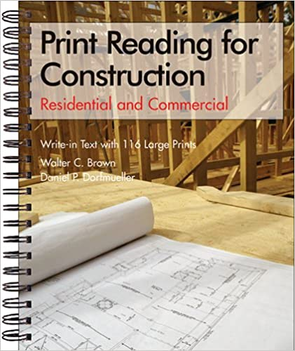 Print reading for construction residential and commercial set print reading for construction residential and commercial set walter c brown daniel p dorfmueller 9781590703472 amazon books malvernweather Choice Image